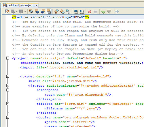 NetBeans Build Customisation