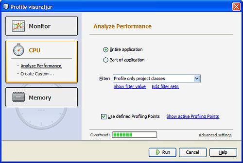 NetBeans Profiler